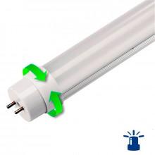 Tubo LED T8 de 18W aluminio con función de emergencia