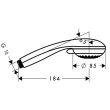 Teleducha Multi Crometta 85 Hansgrohe
