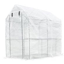 Invernadero con estante para jardín Outsunny