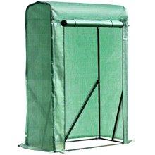 Invernadero verde 100x50x150cm Outsunny