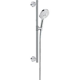 Set de ducha 120 3jet 65/90 Blanco/Cromo Raindance Select S Hansgrohe