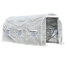 Invernadero blanco 400x200x200cm Outsunny