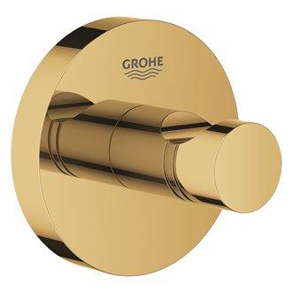 Colgador de base circular oro brilllo Essentials Grohe