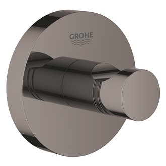 Colgador de base circular grafito brillo Essentials Grohe