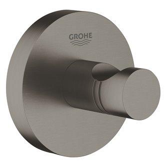 Colgador de base circular grafito cepillado Essentials Grohe