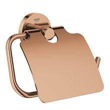 Portarrollos con tapa cobre brillo Essentials Grohe