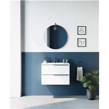 Mueble de baño 2 cajones con lavabo cerámico MIO Compact Royo