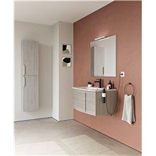 Mueble de baño 1 cajón con lavabo cerámico Wave Royo
