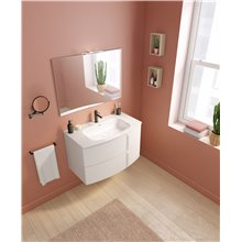 Mueble de baño 2 cajones con lavabo cerámico Wave Royo