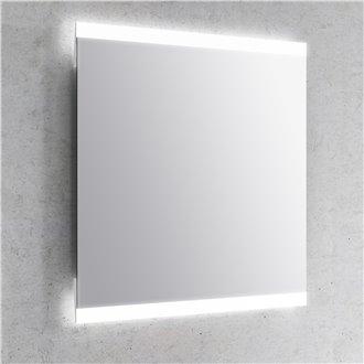 Espejo LED cantos rectos DUE Royo