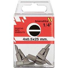 Puntas para atornillar 8x1,2x25 mm Bianditz