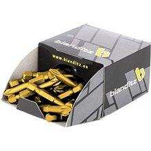 Juego 50 puntas titan 3x50mm Bianditz