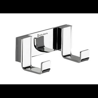 Percha doble a pared Gravity Baño Diseño