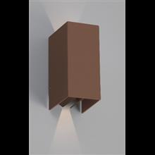 Lámpara aplique marrón óxido Blind Faro