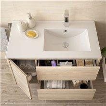 Mueble de baño 855 Izquierda Roble Caledonia NOJA SALGAR