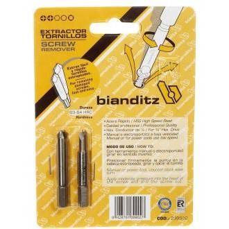 Juego extractor de tornillos Bianditz