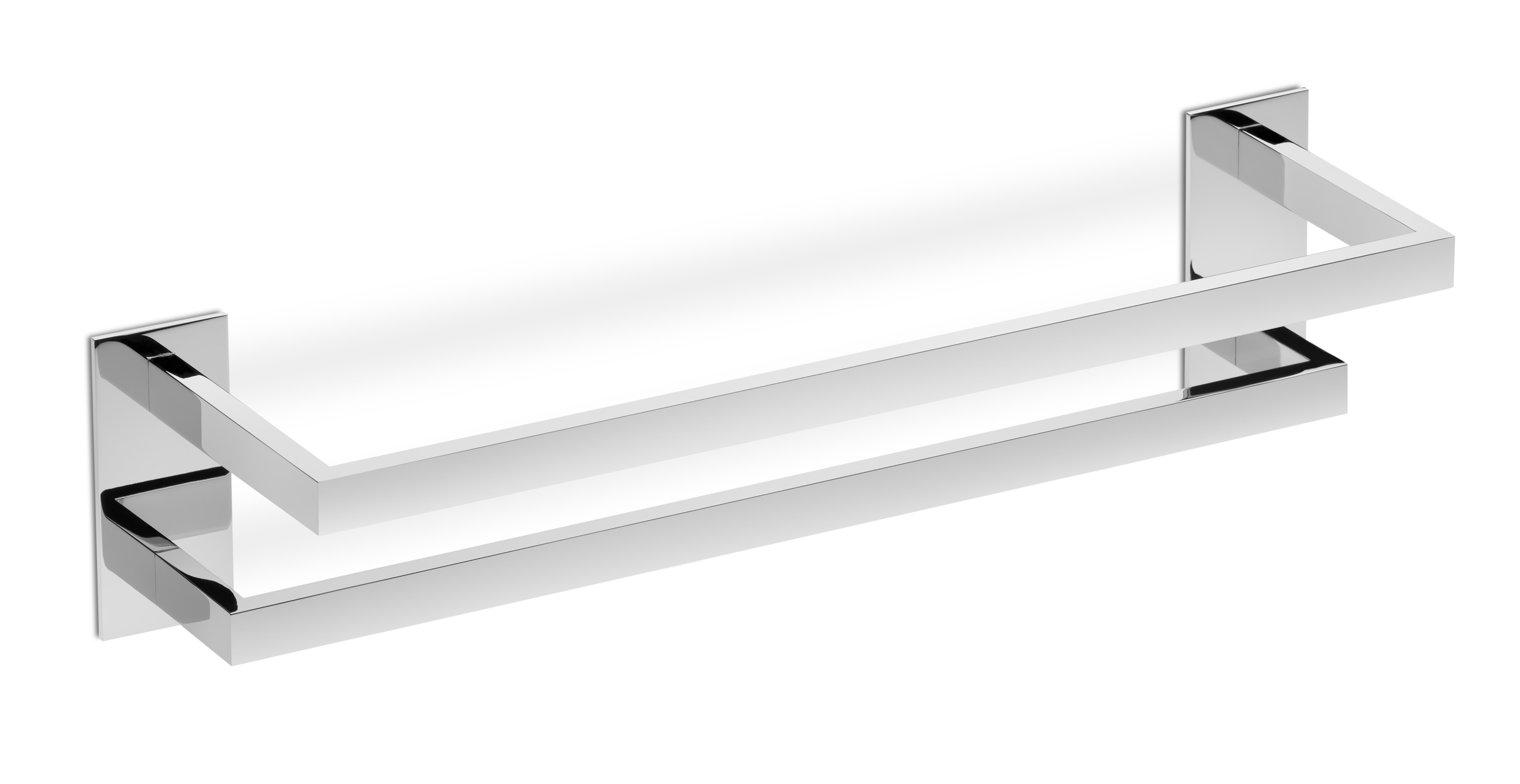 40 cm Acero Inoxidable Shelf Toallero de ba/ño de Acero Inoxidable para Montar en la Pared o en la Pared con instalaci/ón Firme de 40~80 cm