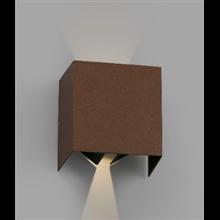 Aplique marrón óxido Olan Faro