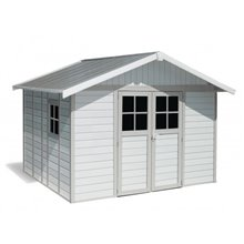 Casa de jardín 11 m2 DECO Grosfillex