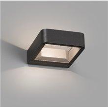 Lámpara aplique gris oscuro Axel Faro