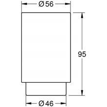 Vaso de cristal blanco Selection Grohe