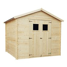 Caseta de madera 6,8m2 Dimitri Gardiun