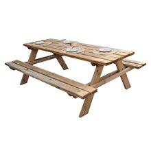 Mesa madera picnic 177x151x77cm Solid Gardiun