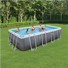 Piscina 549x274cm Power Steel Rectangular Bestway