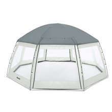 Cobertor cúpula para piscinas Bestway