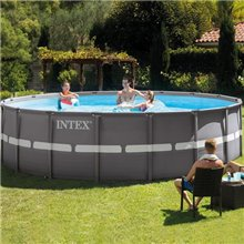 Piscina redonda Ultra Frame 549x132 cm Intex
