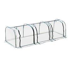 Invernadero transparente 350x100x80 Outsunny