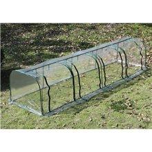 Invernadero transparente 400x100x80 Outsunny