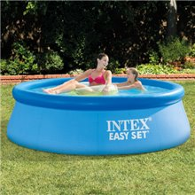 Piscina hinchable redonda Easy Set 244x76 Intex