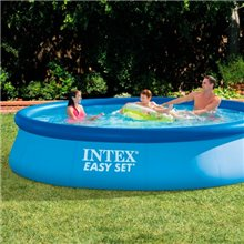Piscina hinchable redonda Easy Set 396x84 Intex