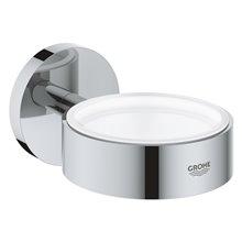 Soporte multiusos para baño cromo Essentials Cube Grohe