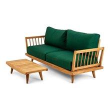 Conjunto sofá de 2 plazas y mesa Jersey Chillvert