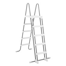 Escalera de acero para piscinas 132 cm Intex
