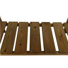 Mesa huerto de madera Gardiun
