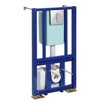 Cisterna con triturador Saniwall Pro SFA