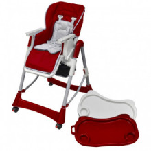 Trona de bebé Deluxe de altura ajustable...