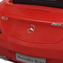 Coche correpasillos eléctrico SLS AMG con mando...