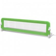 Barandilla de seguridad cama de niño verde...