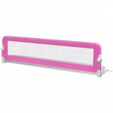 Barandilla de seguridad cama de niño rosa...