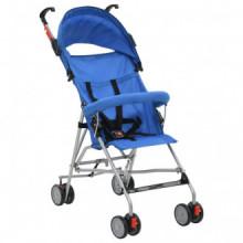Sillita de paseo para bebé azul acero Vida XL