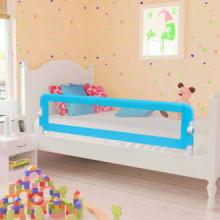 Barandilla de seguridad cama de niño poliéster azul 120x42 cm Vida XL