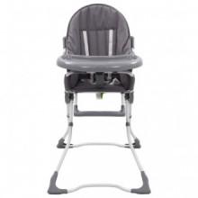 Trona de bebé gris y blanco  Vida XL