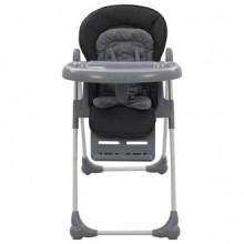 Trona de bebé gris Vida XL