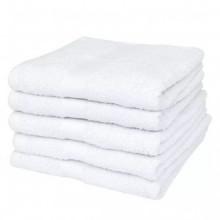 Toallas de ducha 5 uds algodón 500 gsm 70x140...