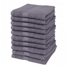 Toallas cortesía 10 unidades algodón 500 gsm...