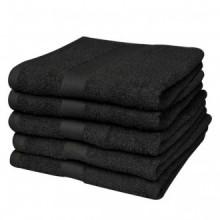 Toallas de mano 5 unidades algodón 500 gsm...